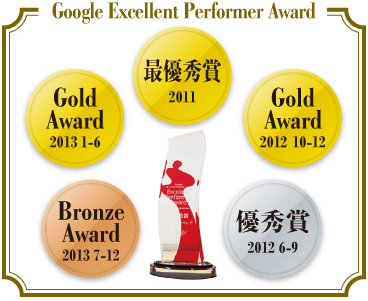 Google Excellent Performer Award